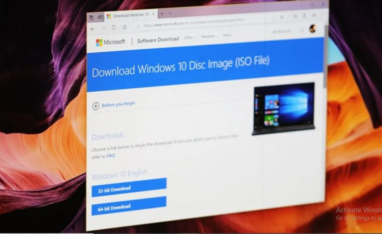 download latest Windows 10 ISO