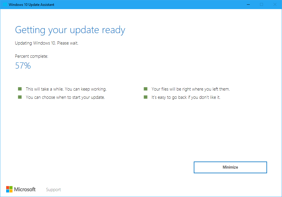 Download windows 10 feature update