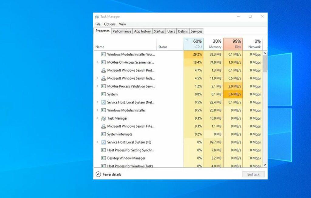 [Fix] TiWorker.exe Windows modules installer worker High ...