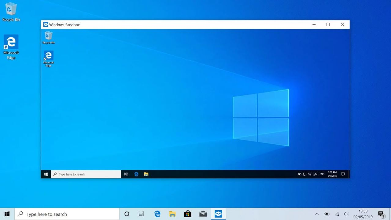 Windows Sandbox Feature on Windows 10